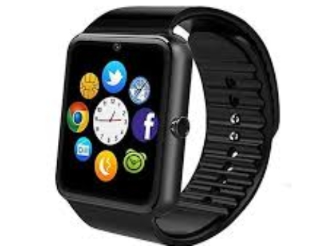 GT08 Android Smart Watch - Black