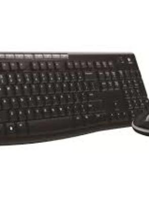 Logitech Wireless Keyboard With Mouse