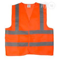 Reflective Safety Work Vex - orange