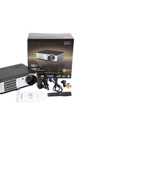 full 3d hd led projector with 2800 lumens and 1080p