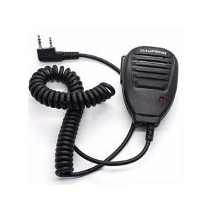 walkie talkie two way radio handheld microphone speaker universal