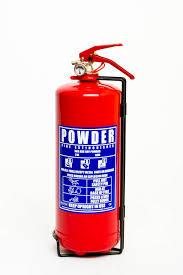 Car Dry Powder ABC Fire Extinguisher - 2kg