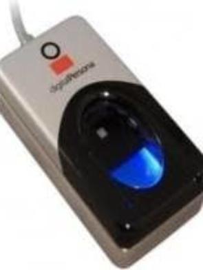 Digital Fingerprint Scanner – Black & Grey