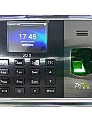 ZKT S30 Fingerprint Time Attendance